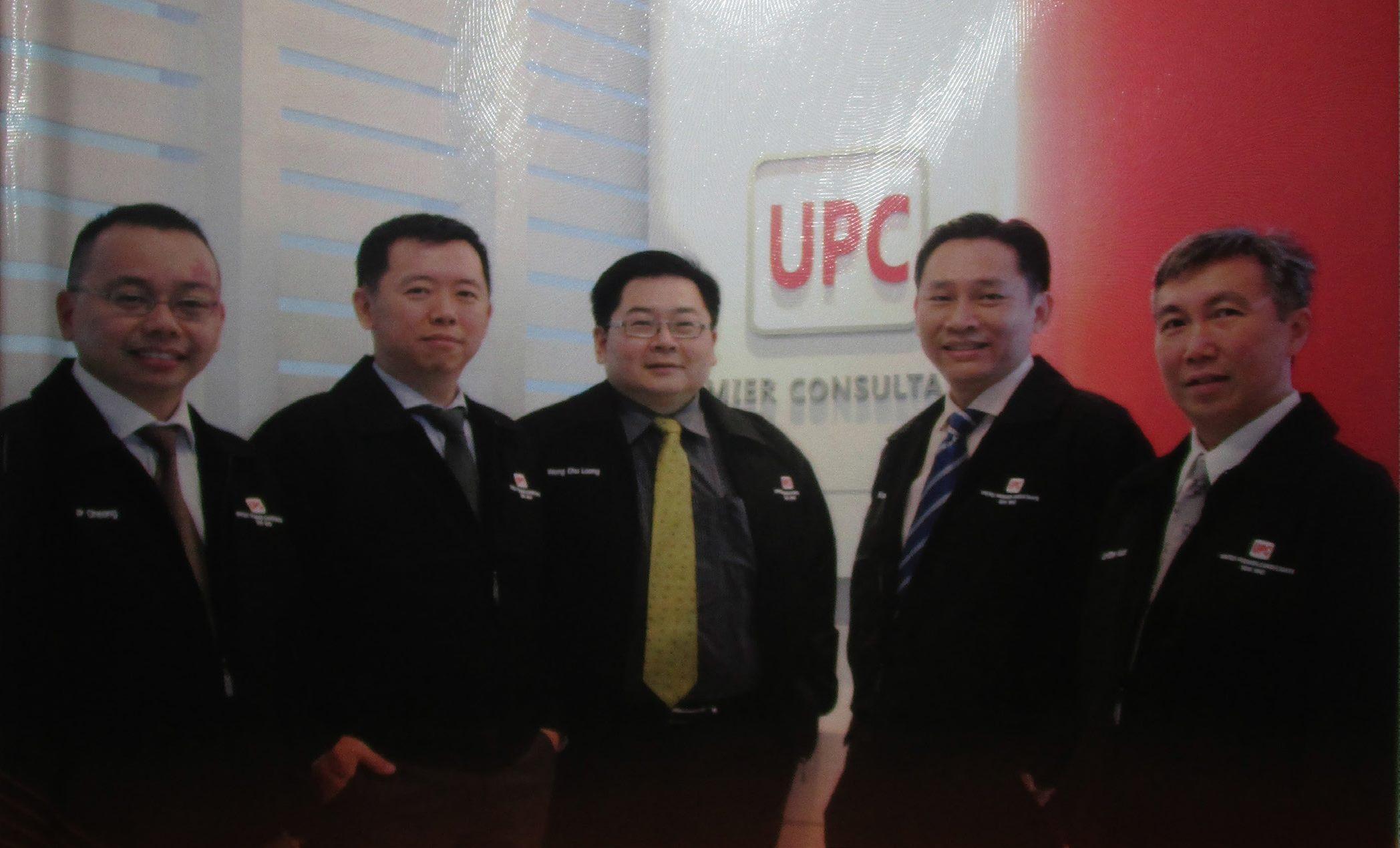From Left To Right: Ir. Cheong Jong Peow, Ir. Yow Kai Yoong , Ir. Wong Chu Loong, Ir. Wong Koe Hoong, Ir. Lai Chee Kuan